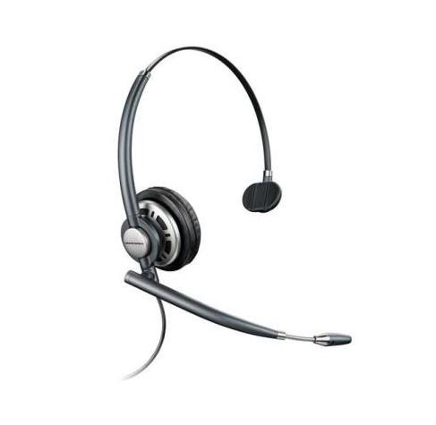 Plantronics HW710 Monaural Head-band Black headset 78712-102