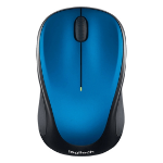 Logitech M235 RF Wireless Optical 1000DPI Ambidextrous Black,Blue mice