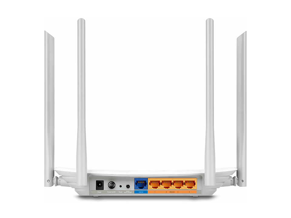 TP-LINK Archer C25 Dual-band (2.4 GHz / 5 GHz) Fast Ethernet White