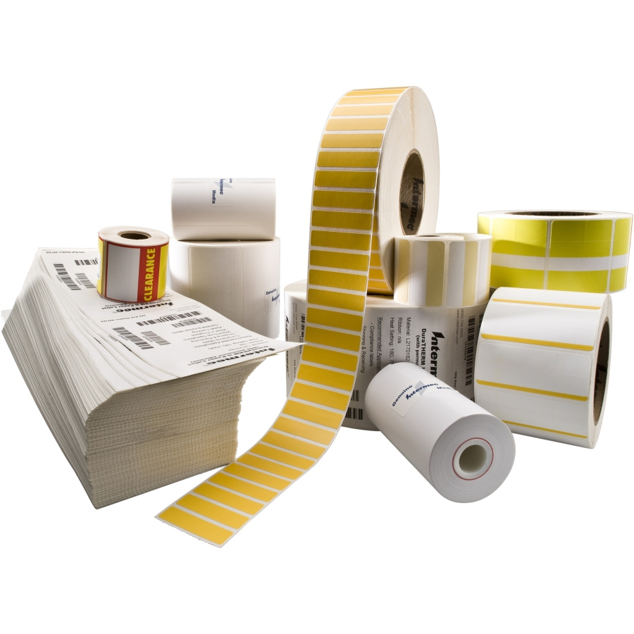 Intermec TT Coated Paper Blanco