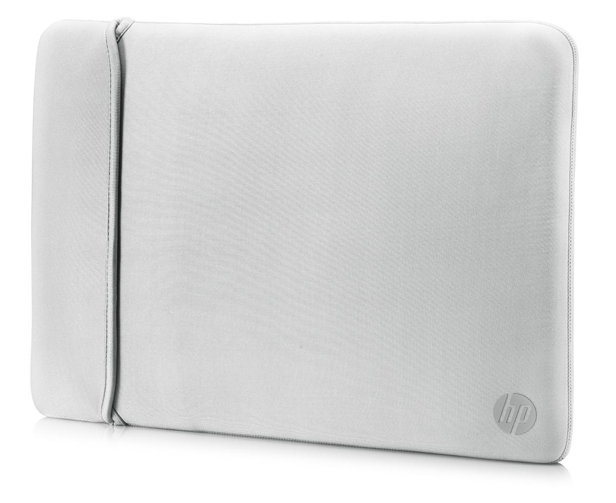 "HP 15.6"" Neoprene Reversible Sleeve 15.6"" Sleeve case Black, Silver"
