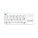 Logitech K400 Plus toetsenbord RF Draadloos QWERTY US International Wit