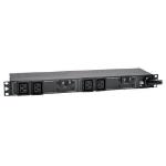 Tripp Lite PDUH32HV19 7.7kW Single-Phase 200-240V Basic PDU, 4 C19 Outlets, IEC 309 32A Blue Input, 3.6 m Cord, 1U Rack-Mount
