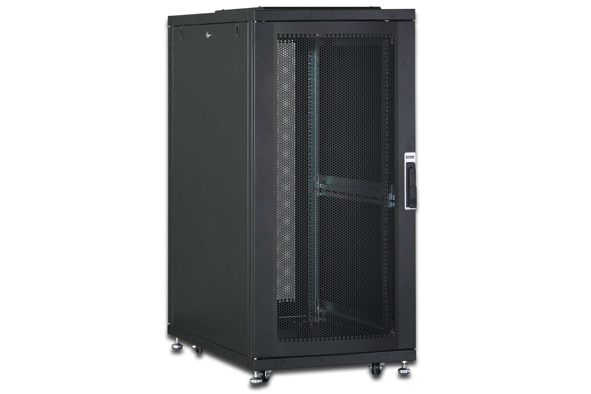 Digitus DN-19 SRV-36U-B-1 rack cabinet Freestanding rack Black