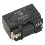 Targus ACH65AU USB 2.0 480Mbit/s Black interface hub