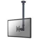 "Newstar FPMA-C100 30"" Black flat panel ceiling mount"