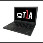 """T1A Lenovo ThinkPad X260 Refurbished Notebook Black 31.8 cm (12.5"""") 1920 x 1080 pixels 6th gen Intel® Core™ i5 8 GB DDR4-SDRAM 256 GB SSD Wi-Fi 5 (802.11ac) Windows 10 Pro"""
