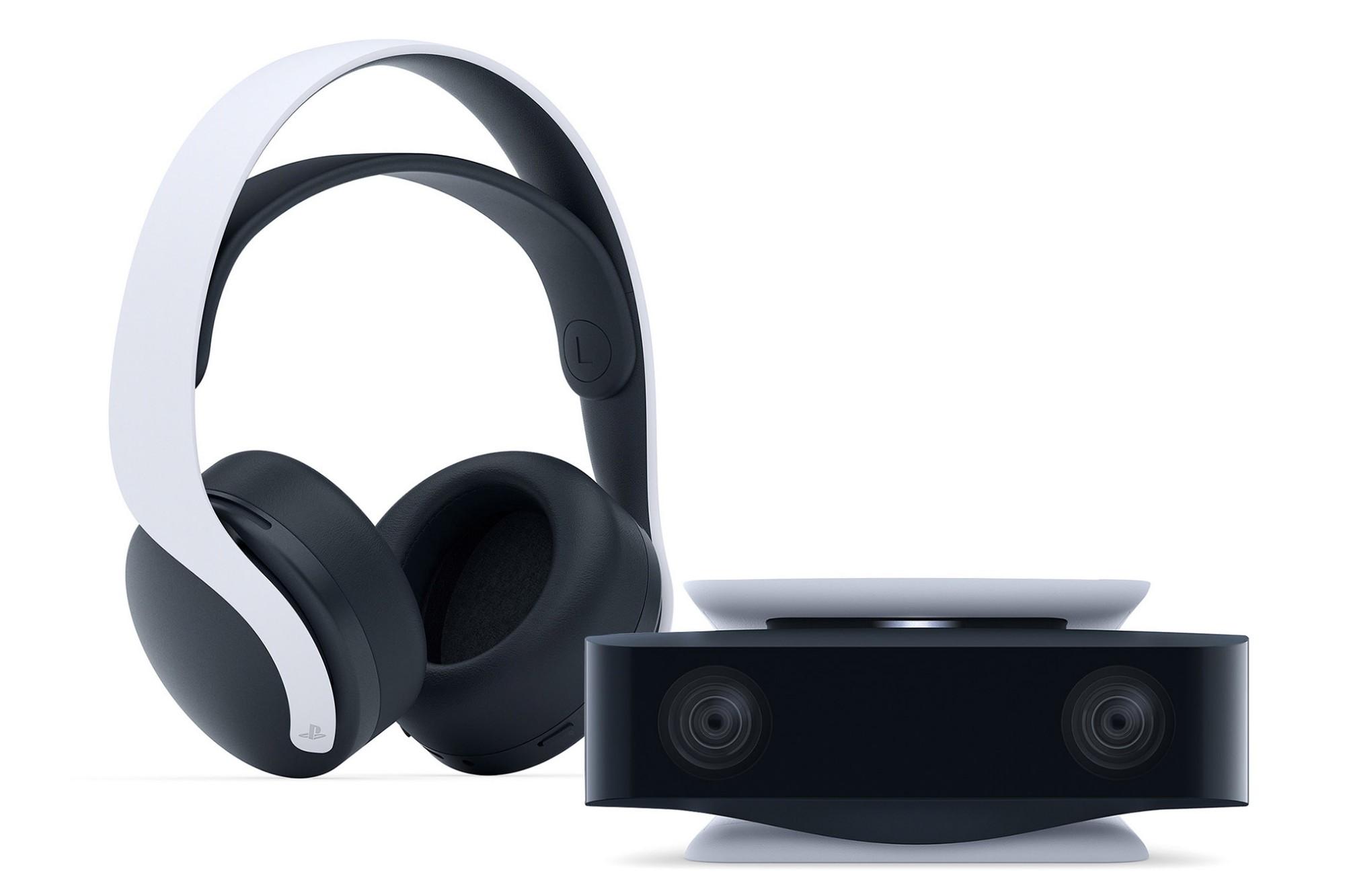 Sony PlayStation 5 Pulse 3D Wireless Headset & HD Camera Bundle