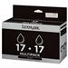 Lexmark 80D2954 (17HC) Printhead black, 205 pages, 7ml, Pack qty 2