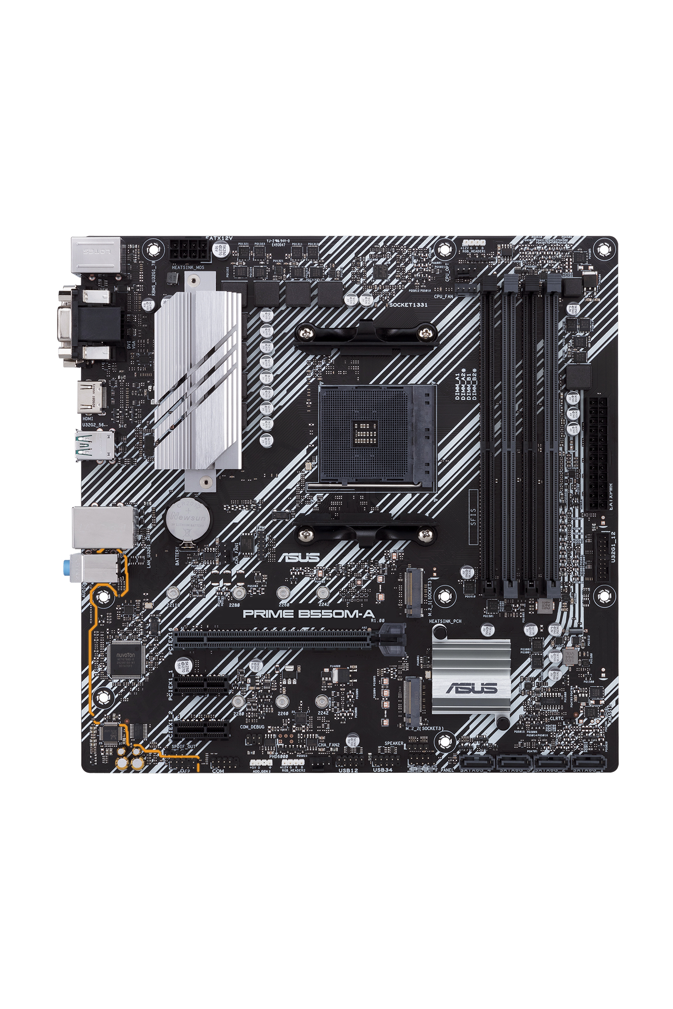 ASUS PRIME B550M-A Zócalo AM4 micro ATX AMD B550