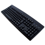 Accuratus KYBAC260BLKPS2 PS/2 QWERTY English Black keyboard