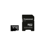 Transcend 2GB microSD with adapter memory card