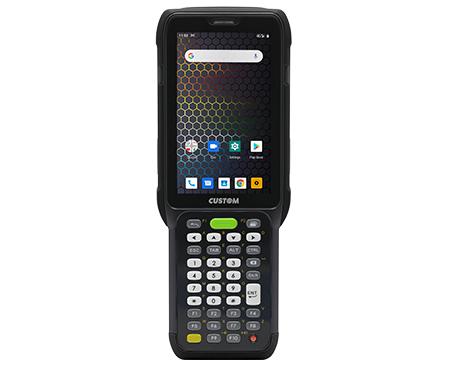 "CUSTOM K-RANGER ordenador móvil industrial 10,2 cm (4"") 800 x 480 Pixeles Pantalla táctil 349 g Negro"