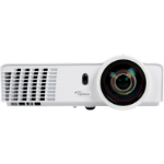 Optoma GT760 Desktop projector 3400ANSI lumens DLP WXGA (1280x800) 3D White data projector