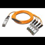 Juniper JNP-QSFP-AOCBO-3M InfiniBand cable QSFP+ Black, Orange