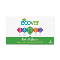 ECOVER LAUNDRY TABLETS 32 WHITE 1012132
