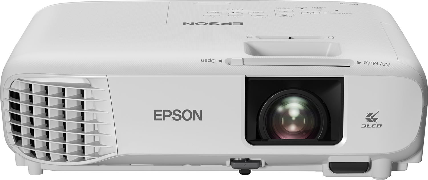 Epson Home Cinema EH-TW740 data projector Ceiling-mounted projector 3300 ANSI lumens 3LCD 1080p (1920x1080) White