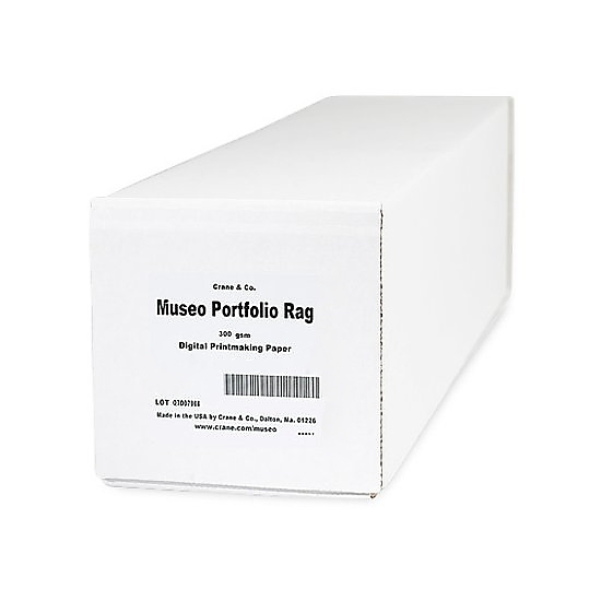 "Canon Museo Portfolio Rag 300g/m 36"" Matte White photo paper"
