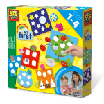 SES Creative Children's My First Sticking Shapes Set, Unisex, 1 to 4 Years, Multi-colour (14428)