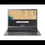 "Acer Chromebook CB715-1W-30JY Gris 39,6 cm (15.6"") 1920 x 1080 Pixeles 8ª generación de procesadores Intel® Core™ i3 8 GB DDR4-SDRAM 64 GB Flash Wi-Fi 5 (802.11ac) Chrome OS"