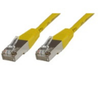 Microconnect Rj-45/Rj-45 Cat6 0.5m 0.5m Cat6 S/UTP (STP) Yellow networking cable