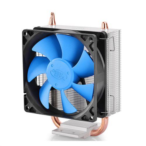 DeepCool Ice Blade 100 Heatsink & Fan, Intel & AMD Sockets, Fluid Dynamic, Blue Fans, Core Touch Tech