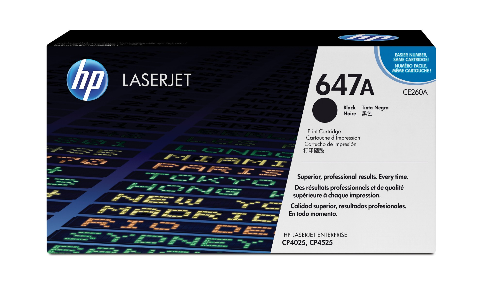 HP CE260A (647A) Toner black, 8.5K pages