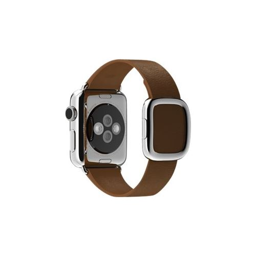 Apple 38mm Modern Buckle - Small - watch strap - brown - for Watch (38 mm)