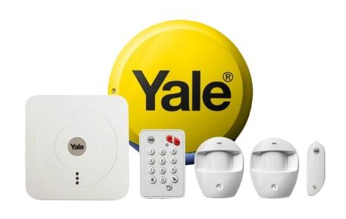 Yale SR-320 White security alarm system
