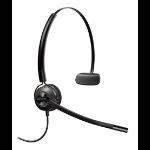 Plantronics EncorePro HW540 headset Monaural Ear-hook, Head-band, Neck-band Black
