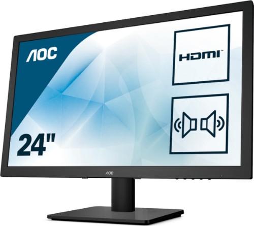 AOC Essential-line E2475SWJ LED display 59.9 cm (23.6