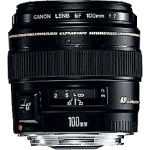 Canon EF 100mm f/2 USM Black