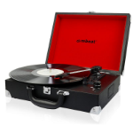 mBeat ®Retro Briefcase-styled USB Turntable Recorder