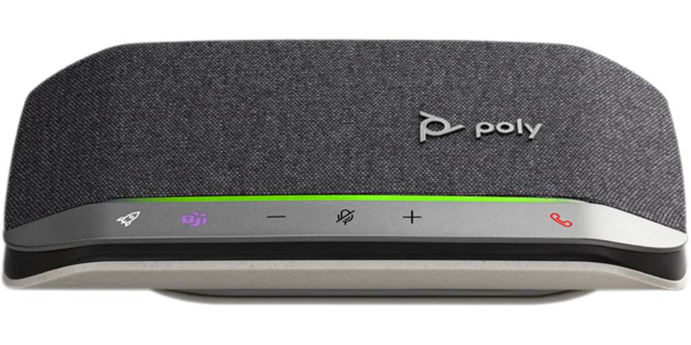 POLY Sync 20 speakerphone Universal Bluetooth Black, Silver