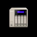 QNAP TVS-463-4G 32TB (Seagate IronWolf Pro) 4 bay desktop NAS; AMD 2.4 GHz Quad Core; 4GB DDR3L RAM (max