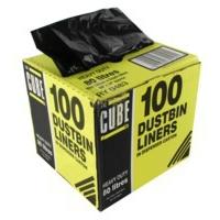 LECUBE LE CUBE DUSTBIN LINERS 80L PK100