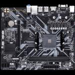 Gigabyte AMD, B450M H,AM4, 2xDDR4, 1xD-SUB, 1xDVI, 1xHDMI, 1 x M.2, 3xPCI-E, 4xSATA, mATX, Support for RAID 0