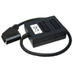 Cables Direct 1SB2 video splitter SCART