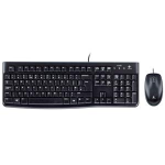 Logitech Desktop MK120, UK USB QWERTY UK English Black keyboard
