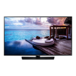 "Samsung HG49EJ670UB 49"" 4K Ultra HD Smart TV Black A 20W"