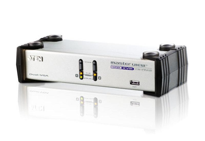 Aten CS1742 KVM switch White