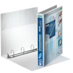 Leitz Presentation Binder Premium White 4 x 30 mm ring binder A4