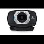 Logitech C615 webcam 8 MP 1920 x 1080 pixels USB 2.0 Black