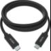 Vision TC 1MUSBC/BL cable USB 1 m 3.2 Gen 1 (3.1 Gen 1) USB B USB C Negro
