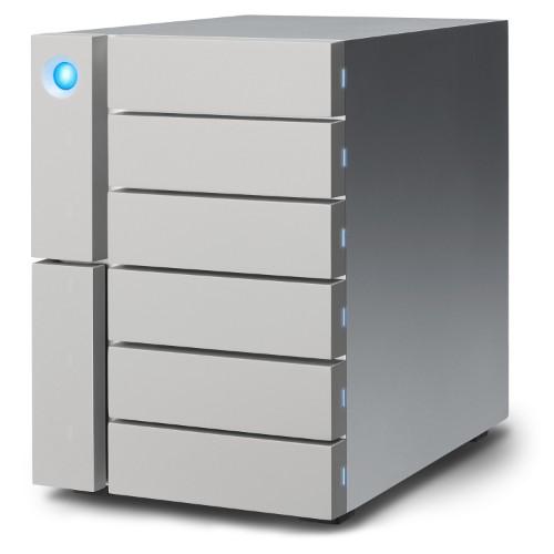 LaCie STFK12000400 6big Thunderbolt 3 12TB Desktop Grey Disk Array Storage