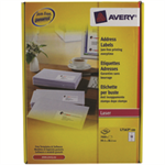 Avery L7163-500 addressing label White Self-adhesive label