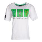 Hasbro Monopoly Chance T-Shirt, Female, Large, White (TS785147HSB-L)