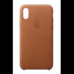 "Apple MQTA2ZM/A mobile phone case 14.7 cm (5.8"") Skin case Brown"
