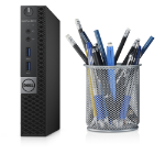 DELL OptiPlex 3040m 3.2GHz i3-6100T 1.2L sized PC Black