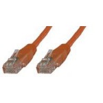 Microconnect UTP6003O 0.3m Orange networking cable